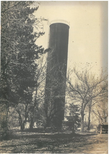 First water tower in Syracuse