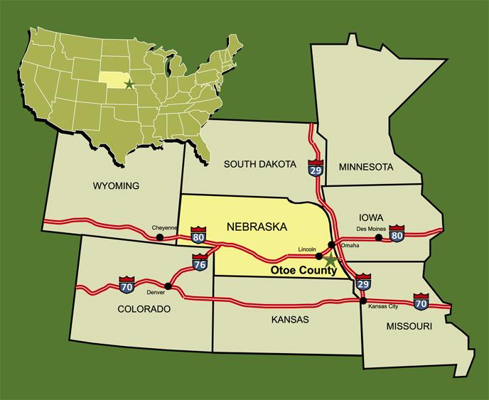 Map & Directions - City of Syracuse Nebraska